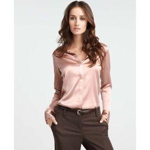 ISO Ann Taylor Silk Legacy Blouse (size 4)